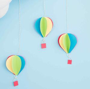 3D Air Balloons Decorations