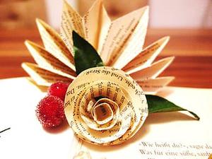 Paper Bag Flower
