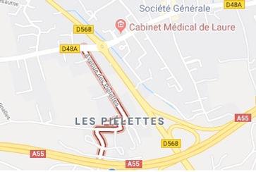 Avenue des pielettes Gignac