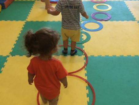 De la baby-gym pour bien grandir.