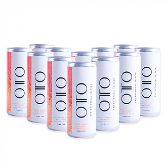 OTO CBD Amplify Seltzer Can 12 x 25cl