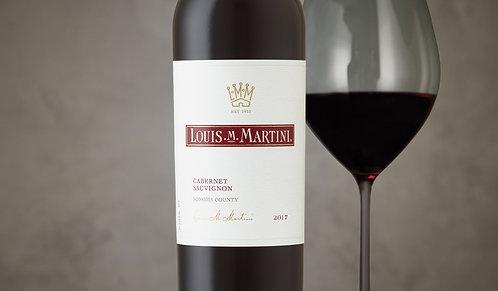 Louis Martini Cabernet Sauvignon, Sonoma County, 2016 x 6 (wooden box)