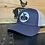 Thumbnail: Cog Hill Low-Profile Snapback Trucker Hat (Heather Navy & Silver)