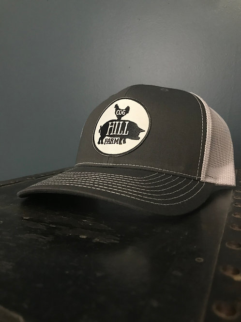 Cog Hill Snapback Trucker Hat (Charcoal)