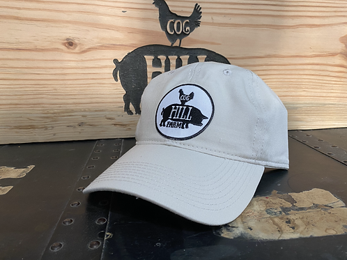 Cog Hill Classic Relaxed Twill Cap  (Stone)
