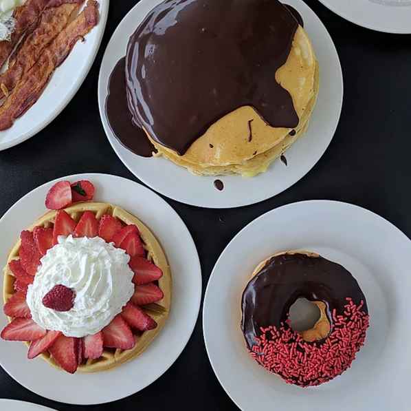 Donuts and Pancakes