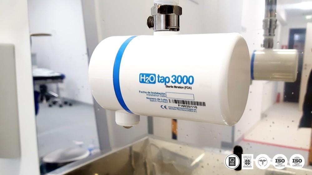 MEDISAR 2 - capsula de filtrare finala pentru lavoare chirurgicale - apa sterila