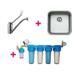 MEDISAFE 5 FMT SM - sistem modular de producere apa sterila pentru spalare instrumentar medical / spalare chirurgicala a mainilor