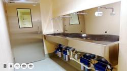 MEDIASEPT 4 SLU-HQ - lavoar chirurgical actionare cu senzor - cu patru posturi de lucru - IQ WATER M