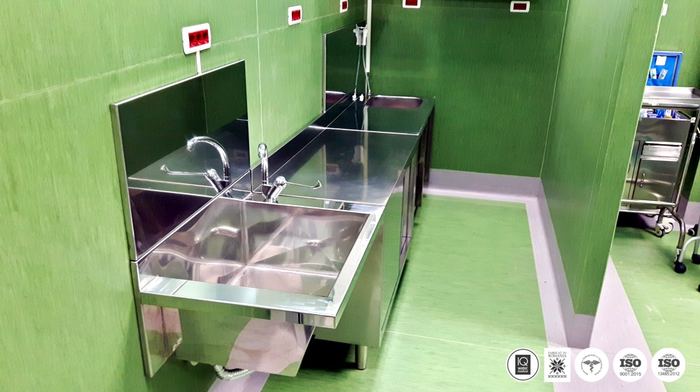MEDISAFE sistem complet pregatire - spalare instrumentar medical