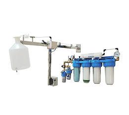 MEDISAFE 8 FMT SC - sistem de producere apa sterila pentru aplicatii in UROLOGIE - actionare cu senzor - IQ WATER MEDICAL