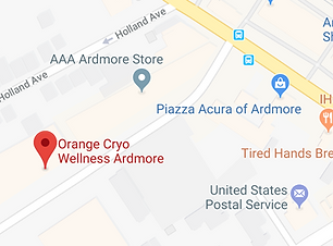 Orange Cryo Wellness of Ardmore