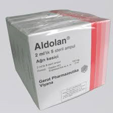 ALDOLAN AMPUL HAKKINDA TALİMATNAME (11.01.2016)