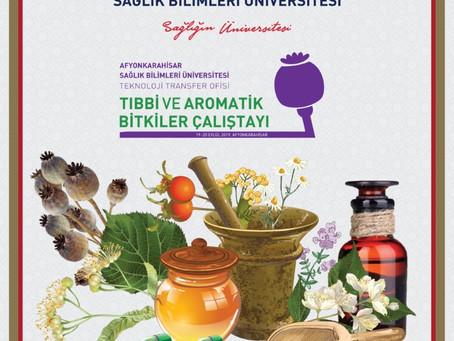 Tıbbi ve Aromatik Bitkiler Çalıştayı (AFSÜ-TAB) 19-20 Eylül 2019