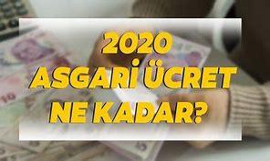 2020 YILI ASGARİ ÜCRET BELLİ OLDU