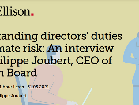 Understanding directors' duties and climate risk - A podcast from MinterEllison