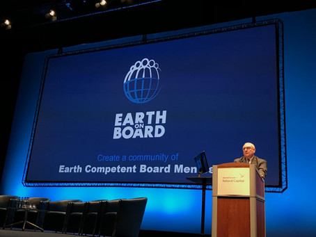 Interview: 'Boards have a fiduciary duty to protect planet Earth'