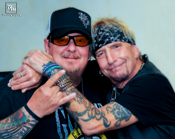 From the Green Room with Great White's Jack Russell