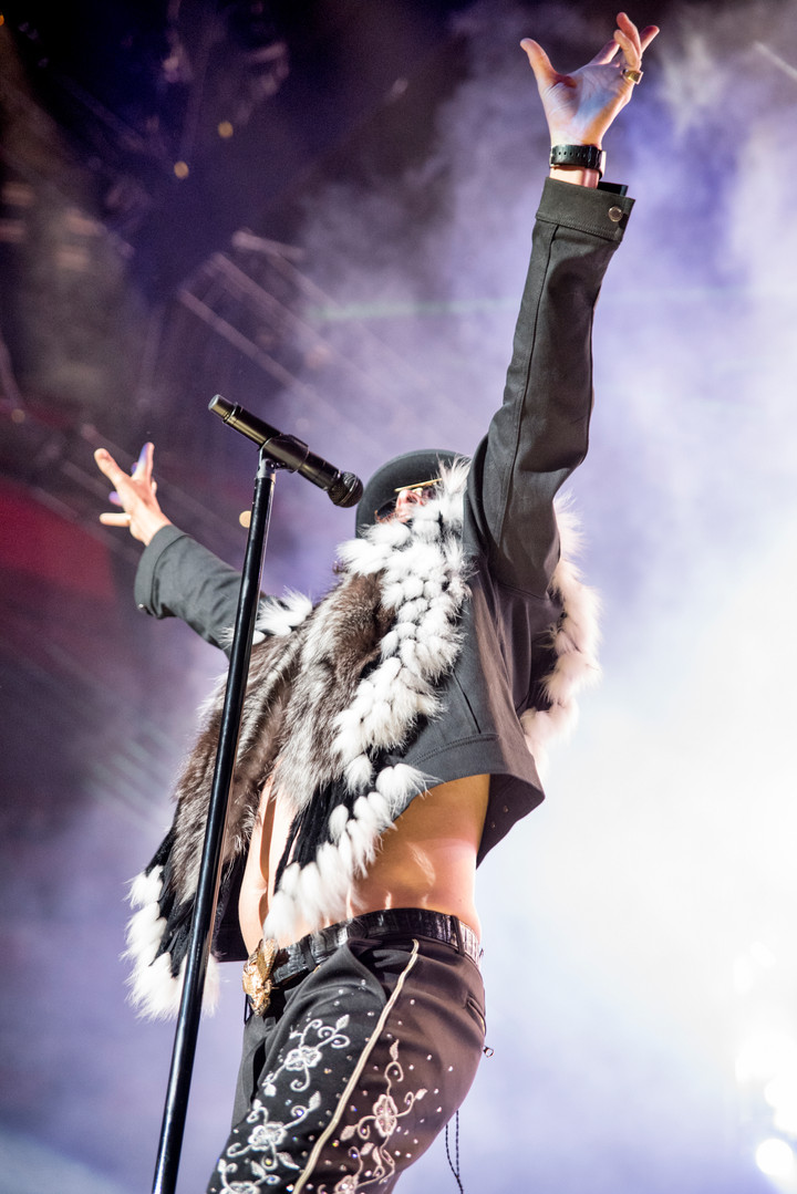 Kid Rock Performs with Perfection at Little Caesars Arena