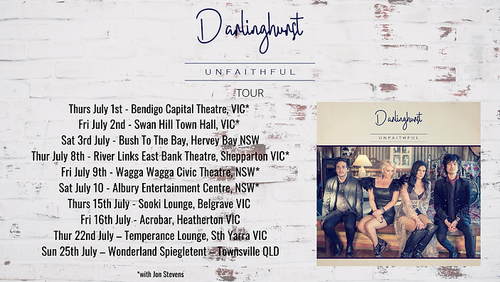 Thurs July 1st - Bendigo Capital Theatre