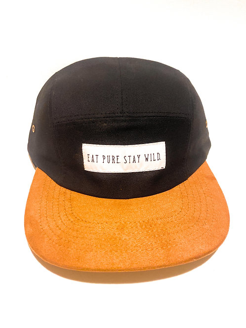 Eat Pure. Stay Wild. - Flat Brimmed Hat