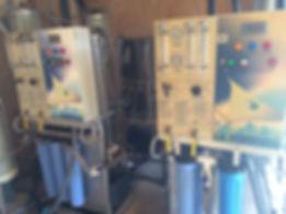 Reverse osmosis machines