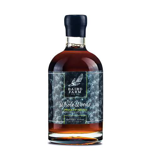375 ml The Whole Woods - SpruceTip Infused Maple Syrup