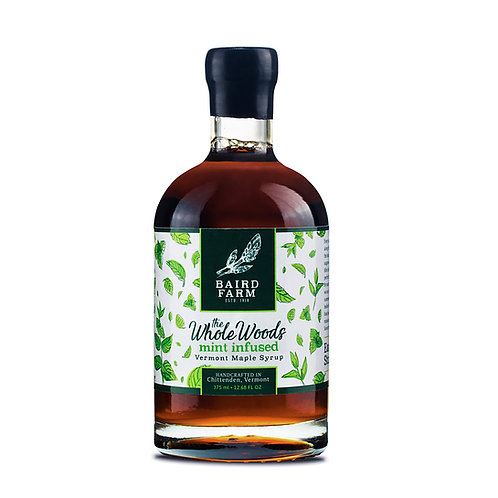 375ml Mint Infused Maple Syrup