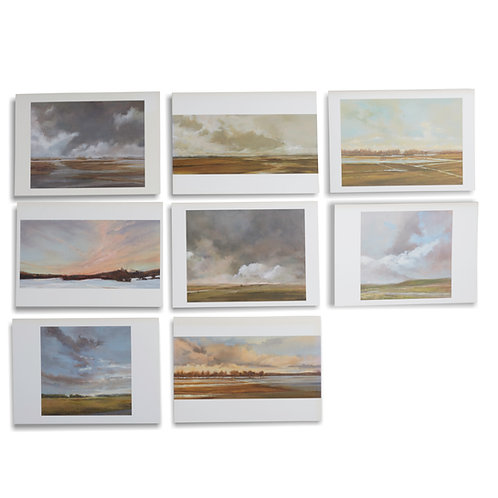 Bonnie's Notecards (Oil Paintings)