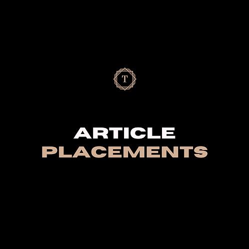 Blog Placements