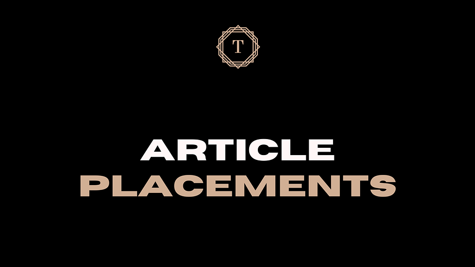 Blog Placements