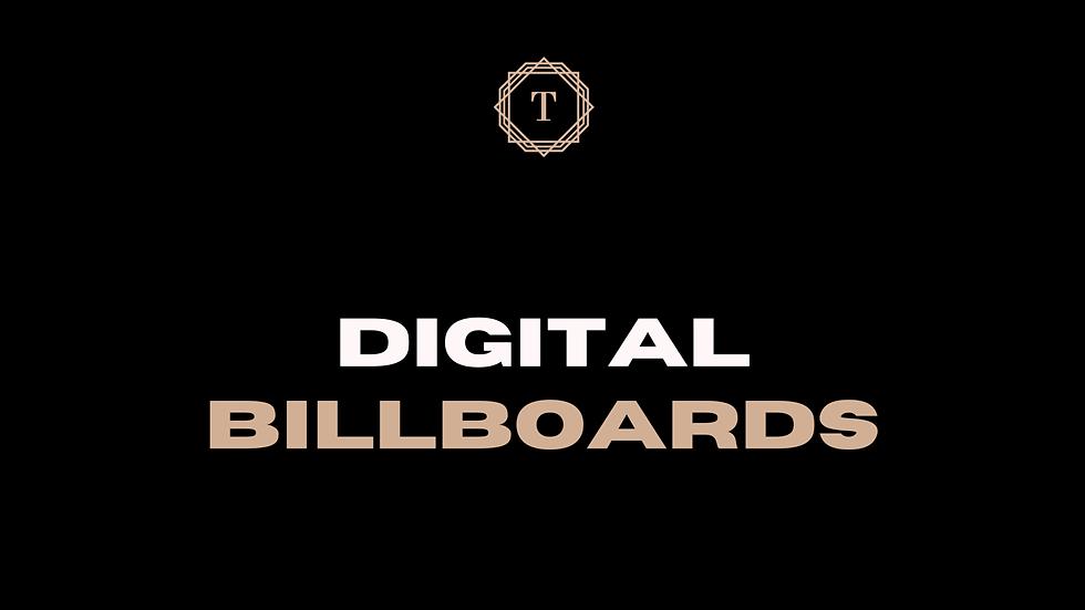 Digital Billboard Placements
