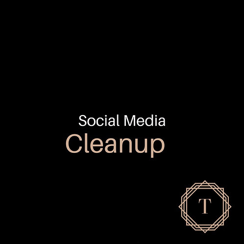 Social Media Cleanup