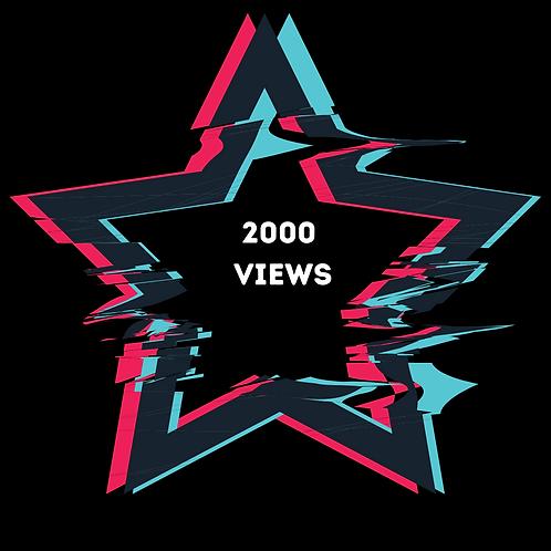 2000 Instagram Views