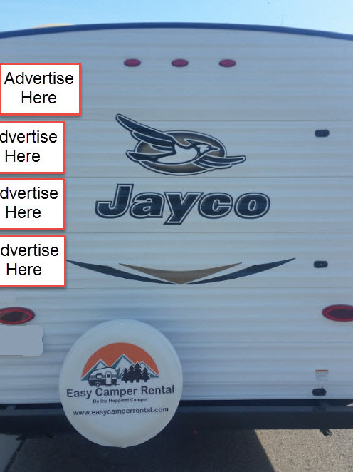 Easy Camper Rental Advertising