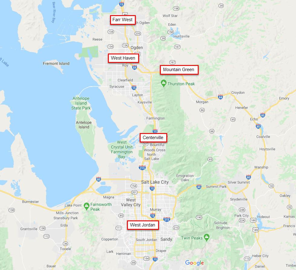 Pick-up/Drop-off Locations
