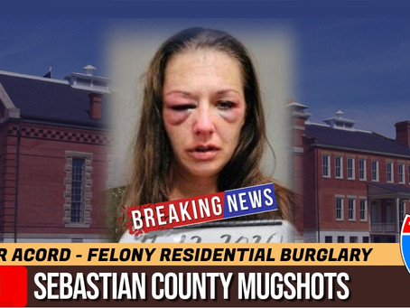 Sebastian County Mugshots: July 12th, 2020
