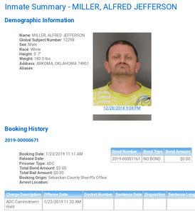 Sebastian County Mugshots: January 23rd