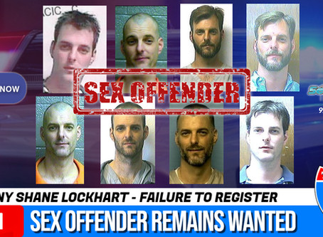 Sex offender Lockhart still wanted in Sequoyah County