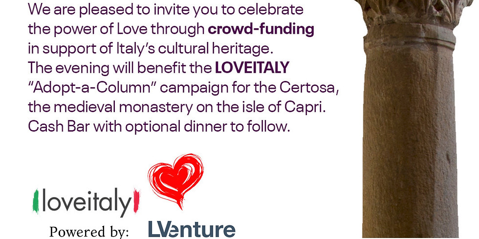 """""""I Love Italy"""" Valentine Cocktail Party"""