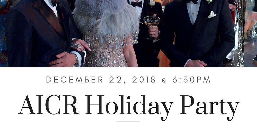 AICR Holiday Dinner 2018