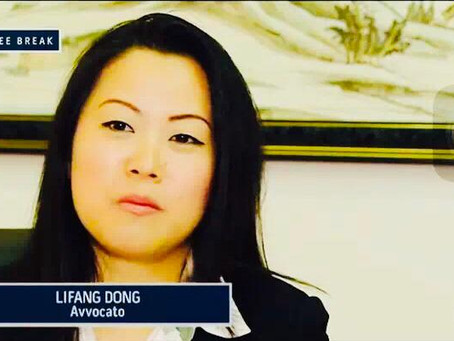 First Chinese-Italian Lawyer in Italy