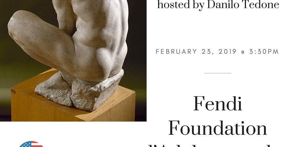 Fendi Foundation l'Adolescente by Michelangelo
