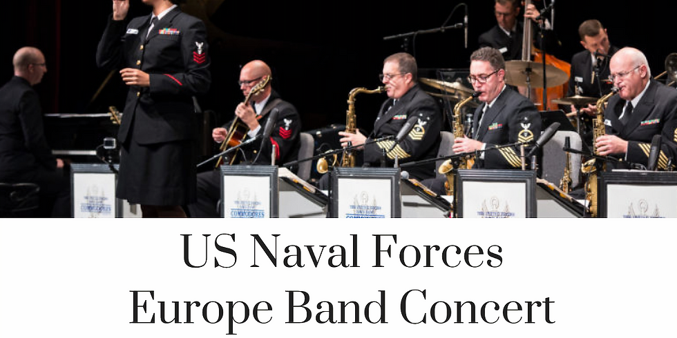 U.S. Naval Forces Europe Band Concert