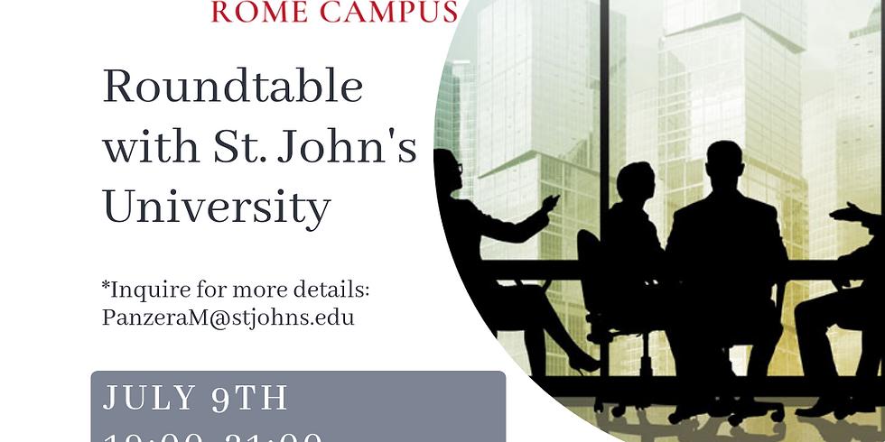 Roundtable with St. John's University