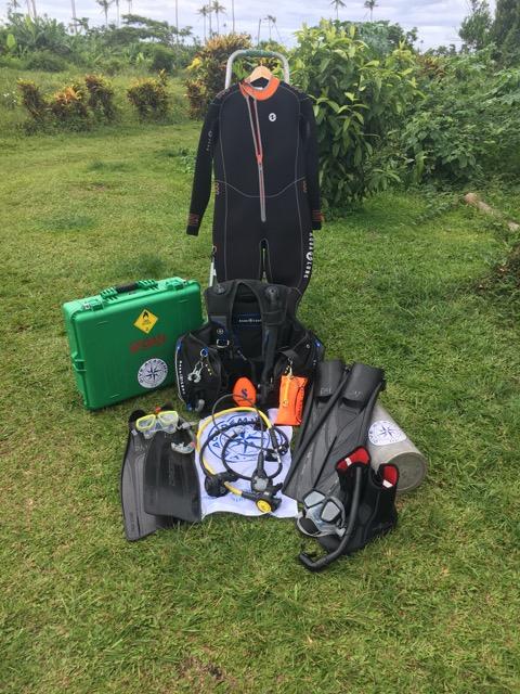 Dive Gear full set Dive Academy Fiji