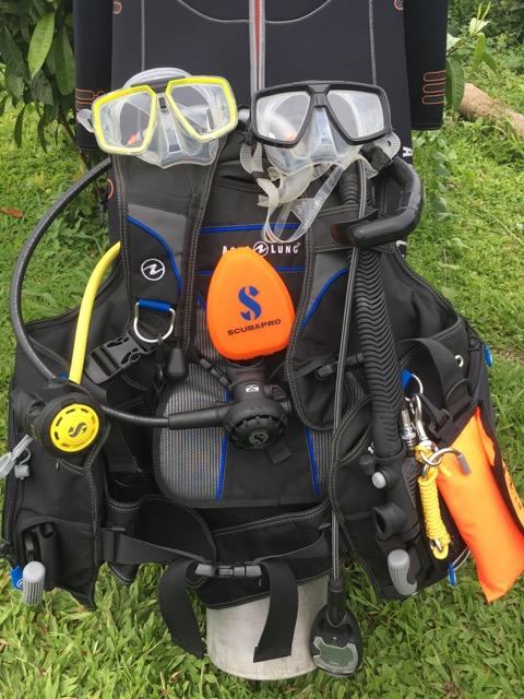 Dive Gear Dive Academy Fiji