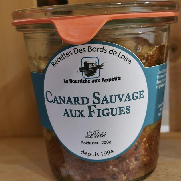 la maison des artisans sologne pâte de canard sauvage