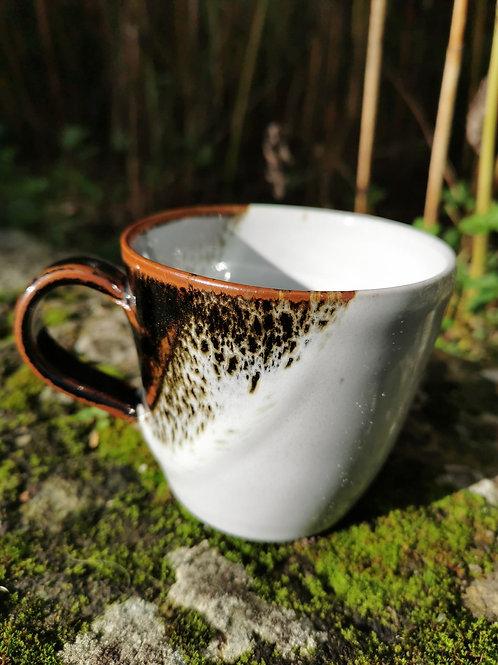"""Tasse à café beige en grès émaillé """"Chavigny"""""""