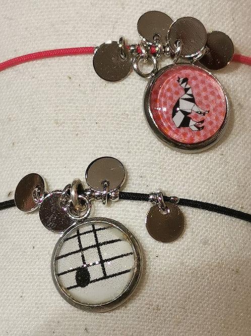 """Bracelet élastique """"Elise Art"""""""